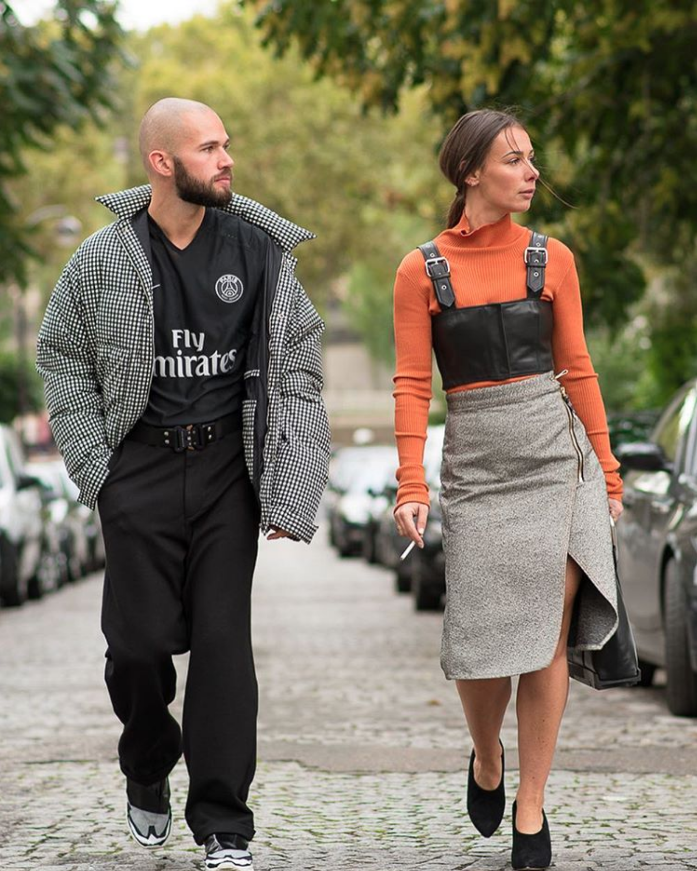 acne studios street style fashion week