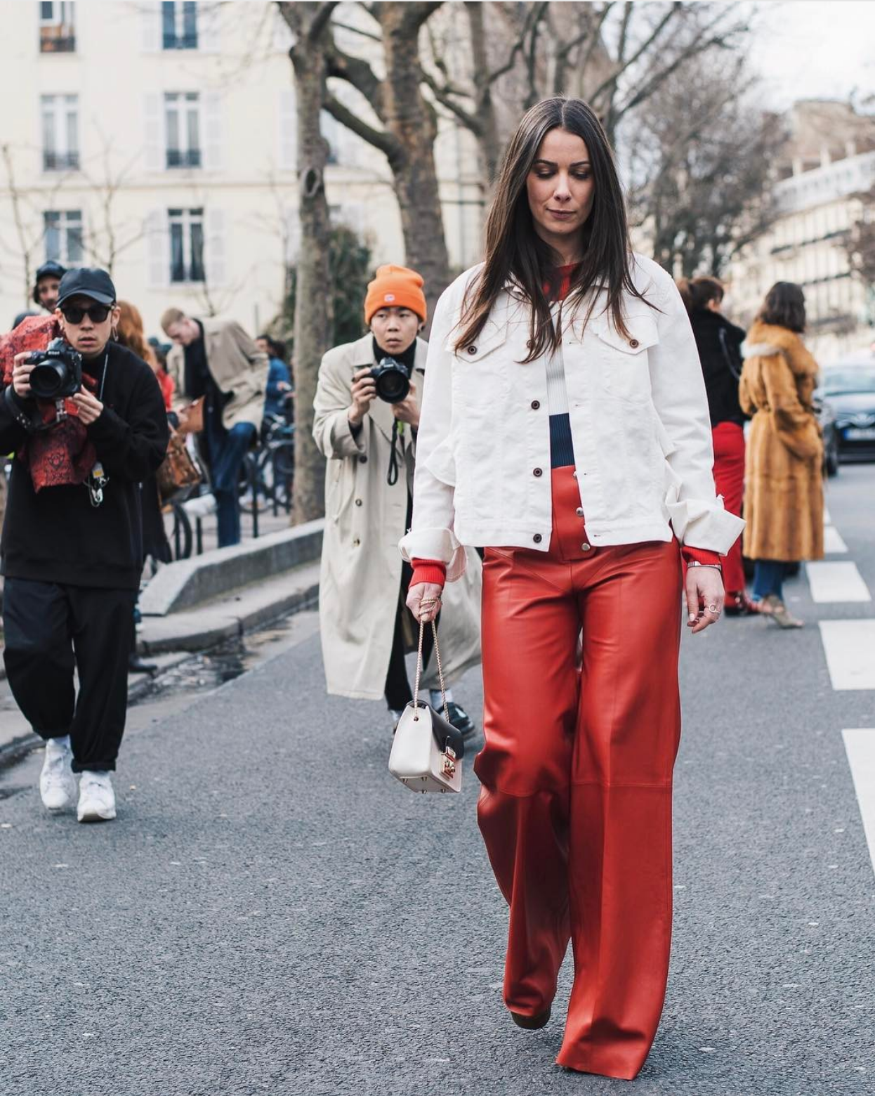 avery d'alessandro street style paris fashion week