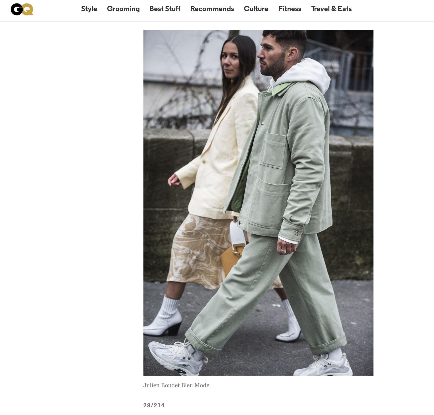 GQ street style fashion couple