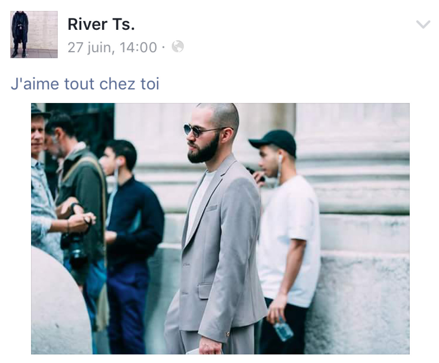 JS BY RIVER TS FASHION WEEK 2016 PARIS SS17 MEN STREETSTYLE JAIMETOUTCHEZTOI