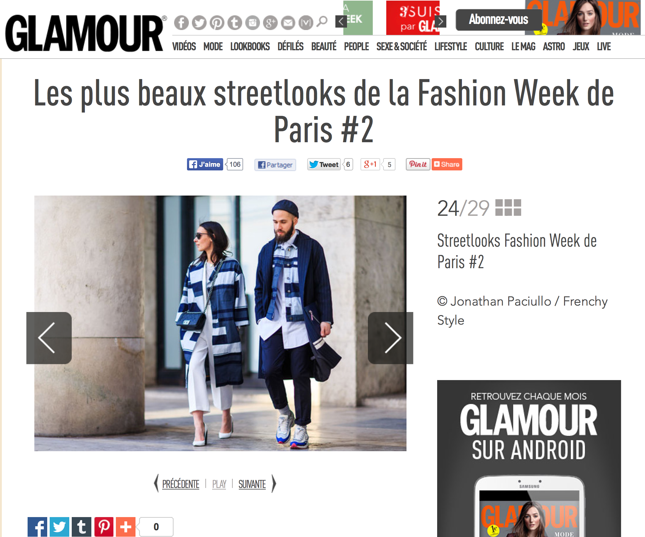 JONATHAN PACIULLO STREET STYLE PARIS FASHION WEEK
