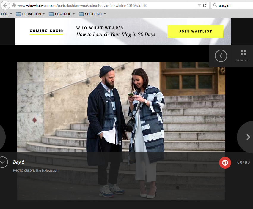 PFW 2014 ASOS WHO WHAT WEAR STREETSTYLE PARS FASHION WEEK