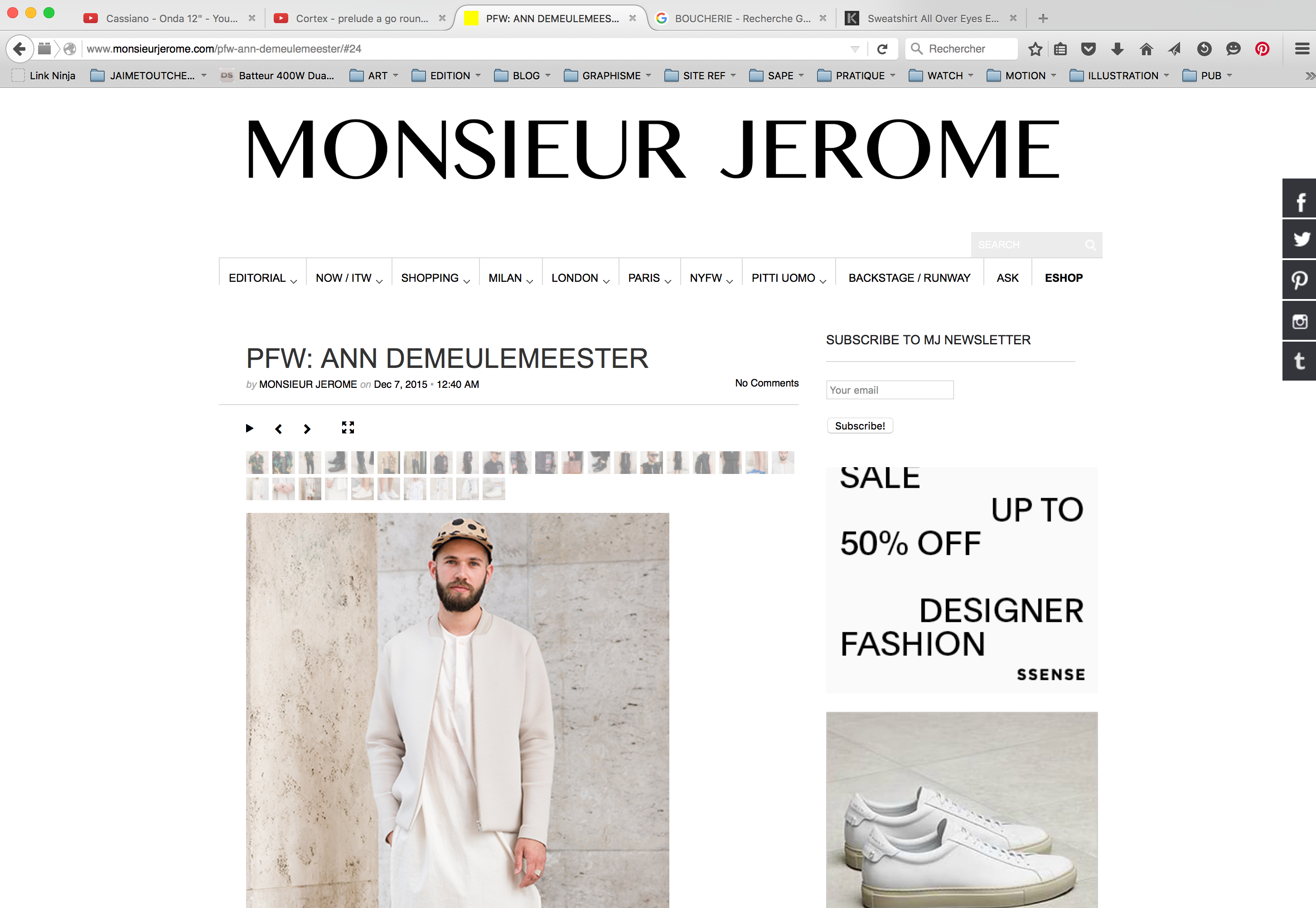PFW 2015 SS16 MEN JUUNJ MONSIEUR JEROME 2
