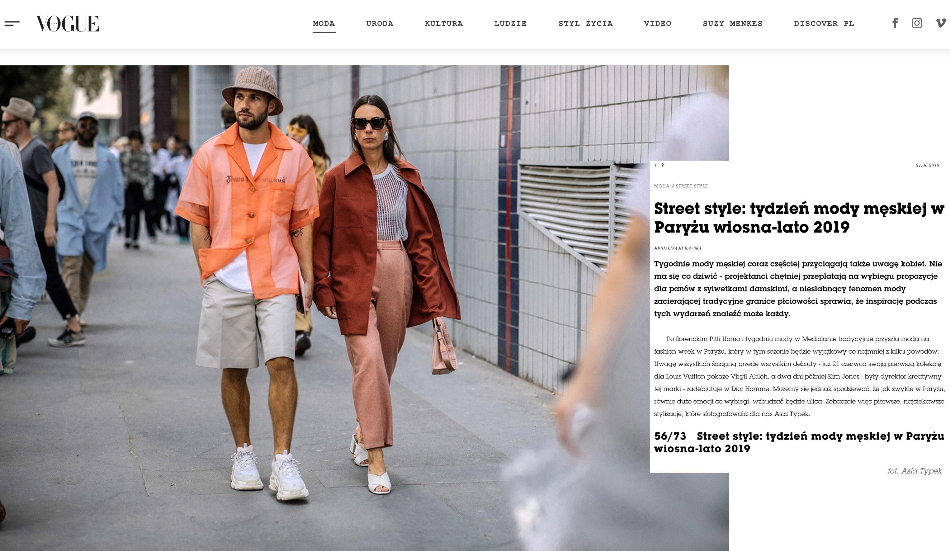 Vogue Polska asia typek