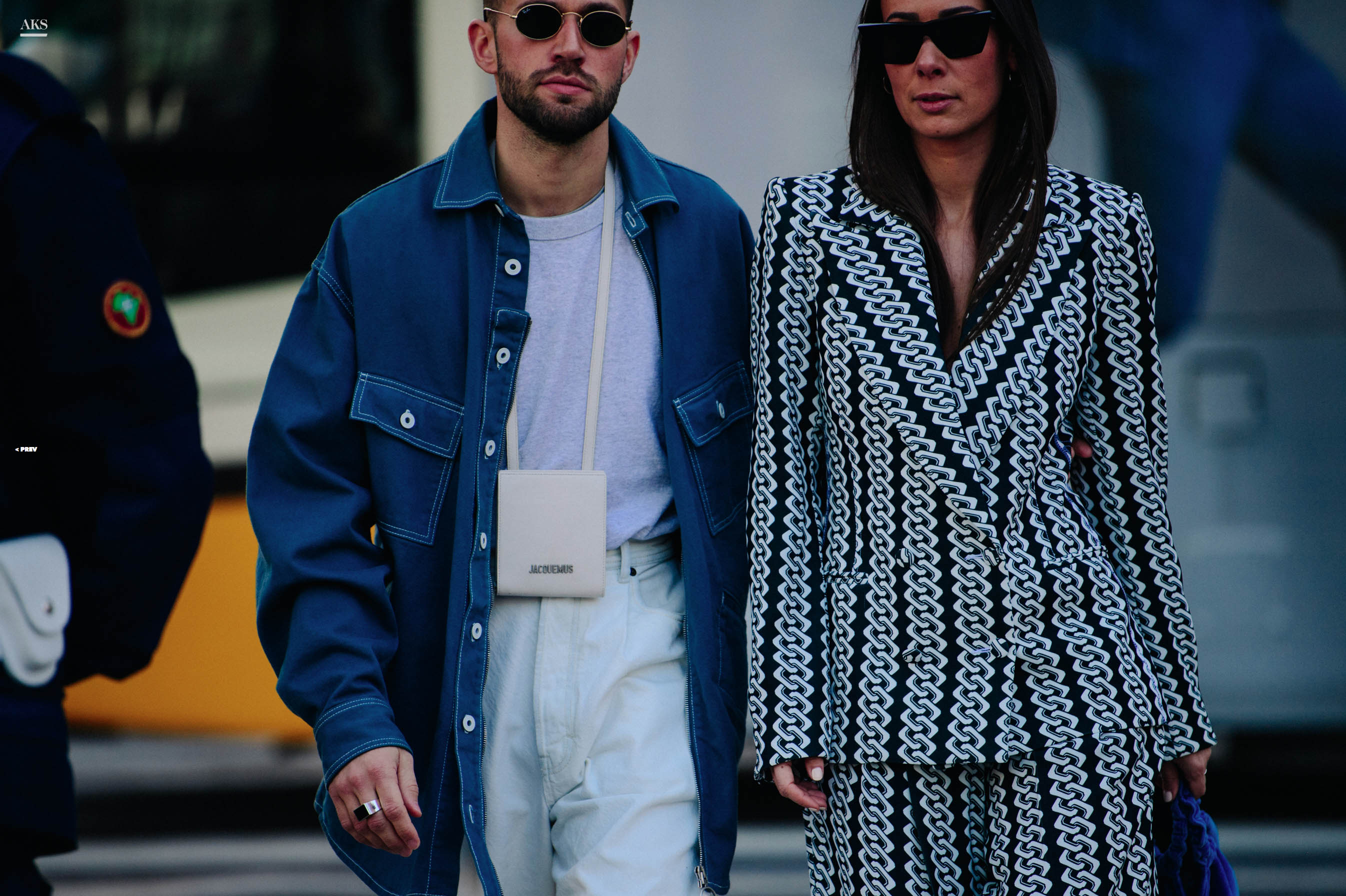 aks street style pictures couple adam katz siding