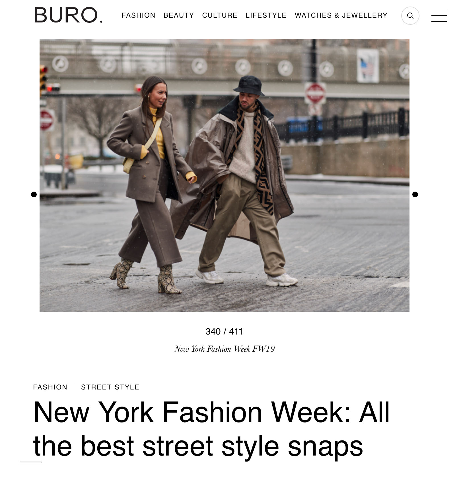 ambush coat street style