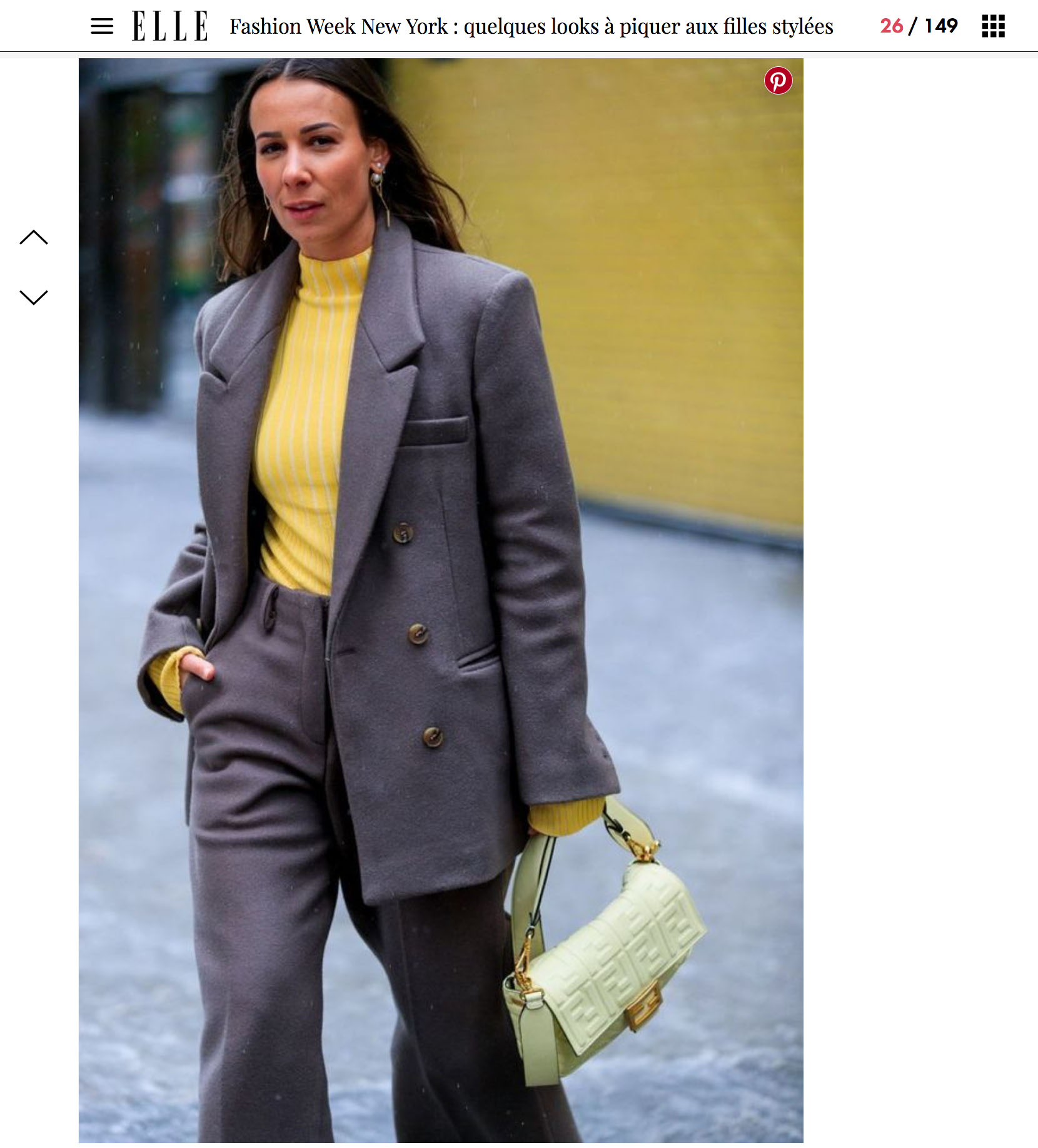 elle fashion week new york street style