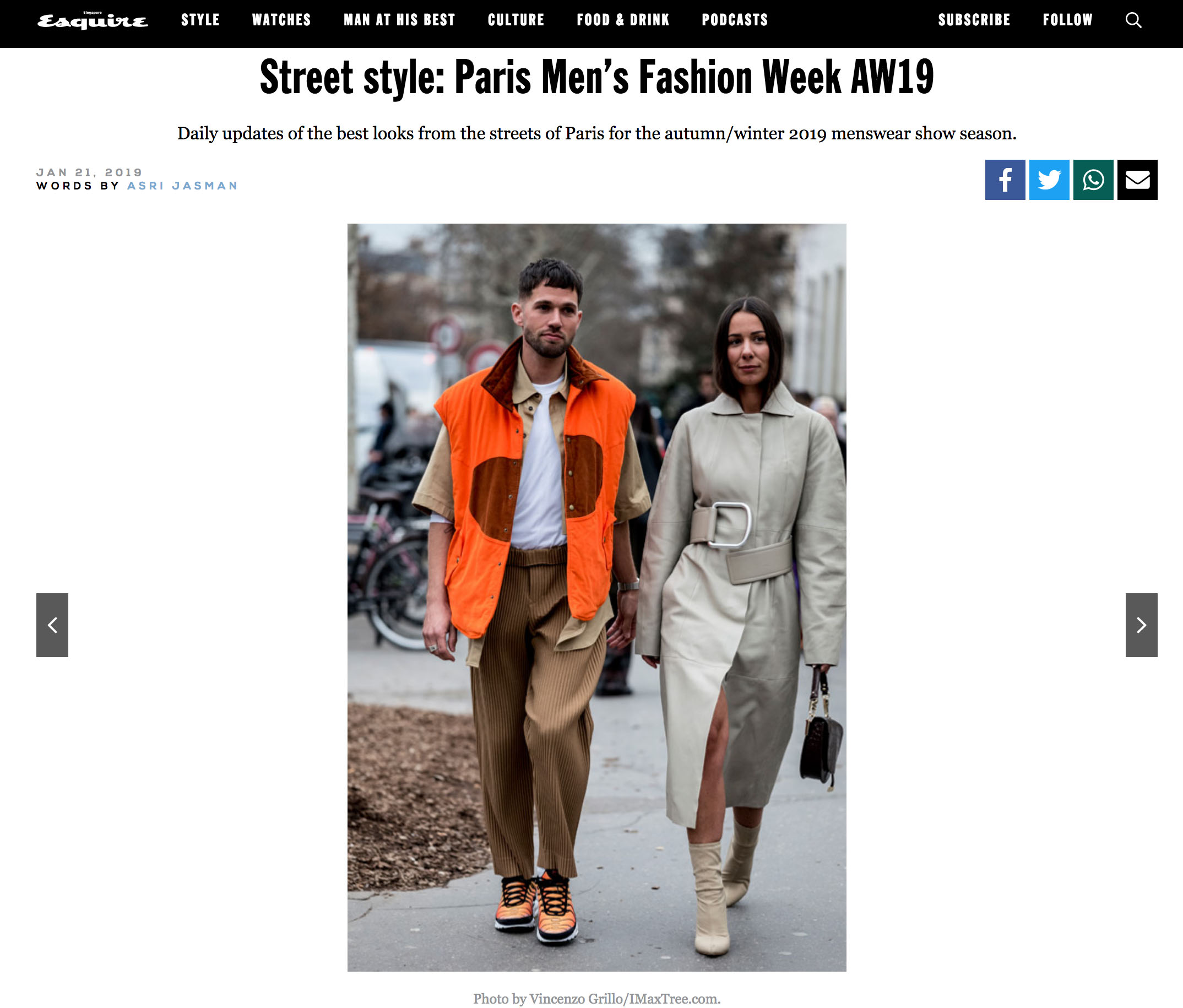 esquire street style fashion couple