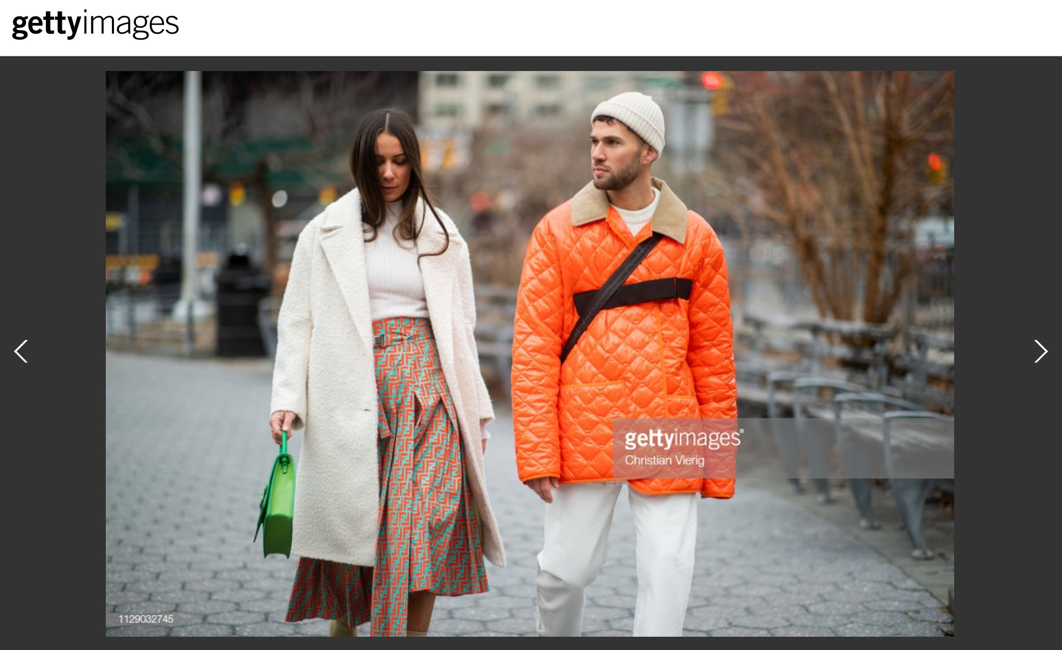 fashion couple streetstyle nyfw