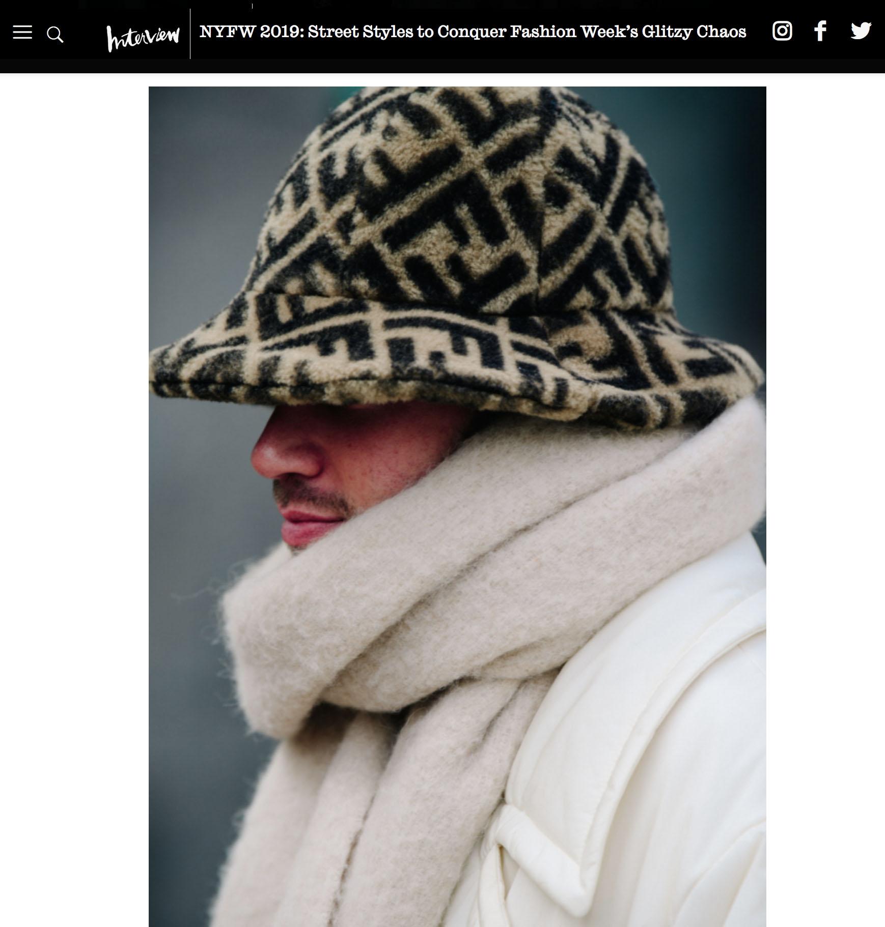 fendi fashion week street style