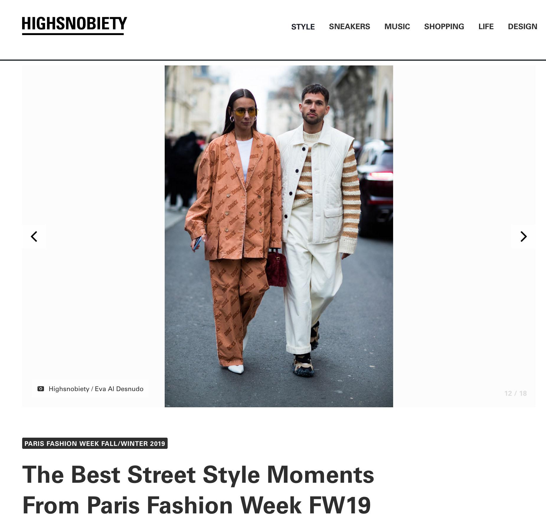 highsnobiety street style