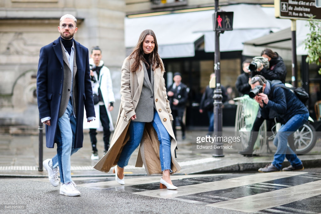 jeansebastien-roques-and-alice-barbier-fashion-bloggers-from-jaime-picture-id646395920