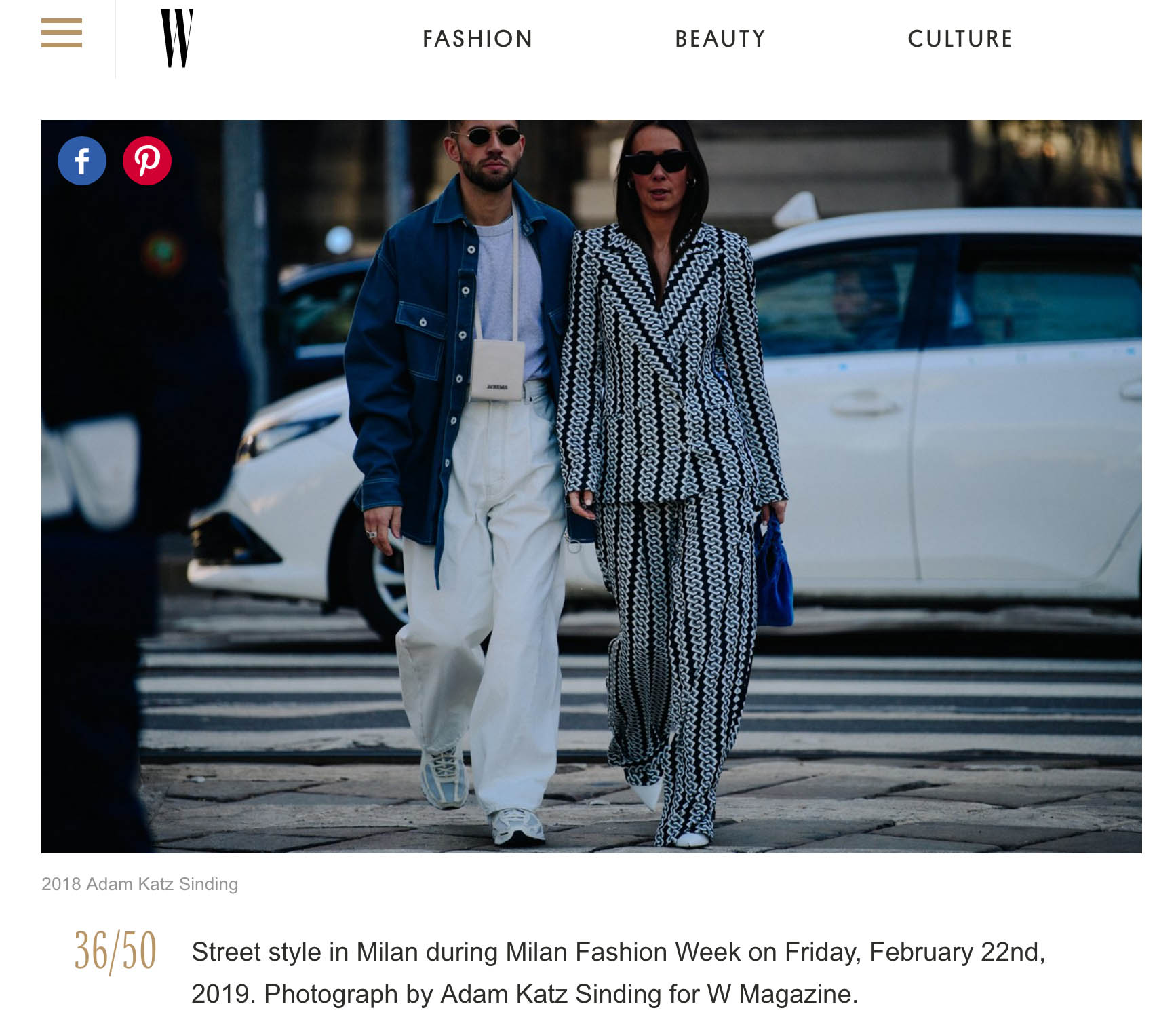 koche street style fashion week milano couple