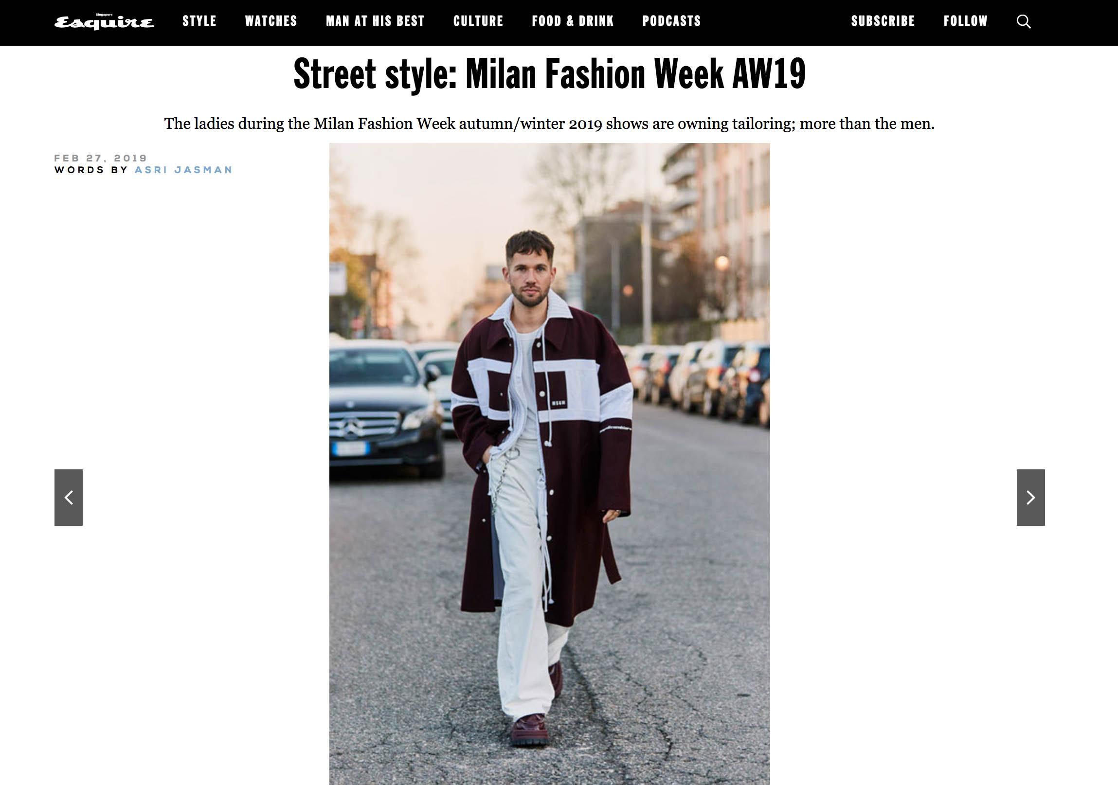 msgm street style fashion week js
