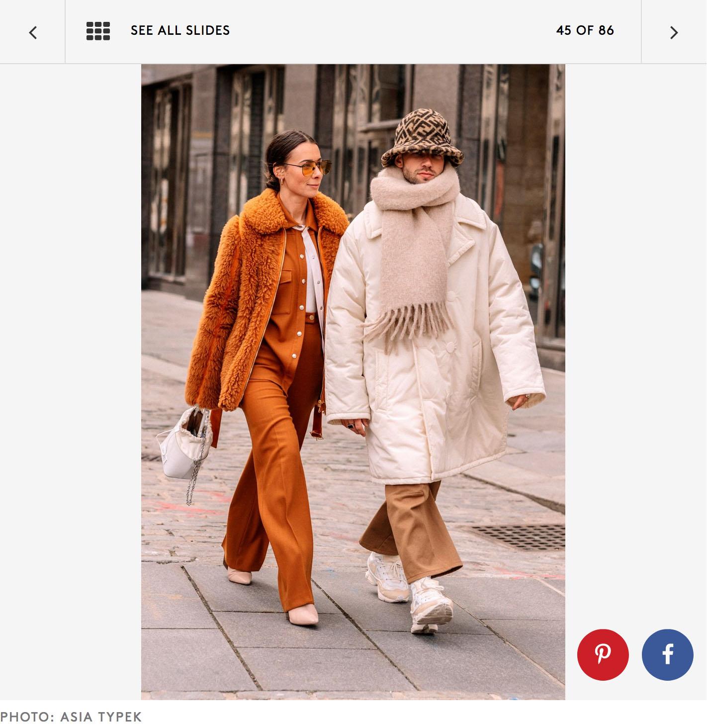 new york fashion week couple street style