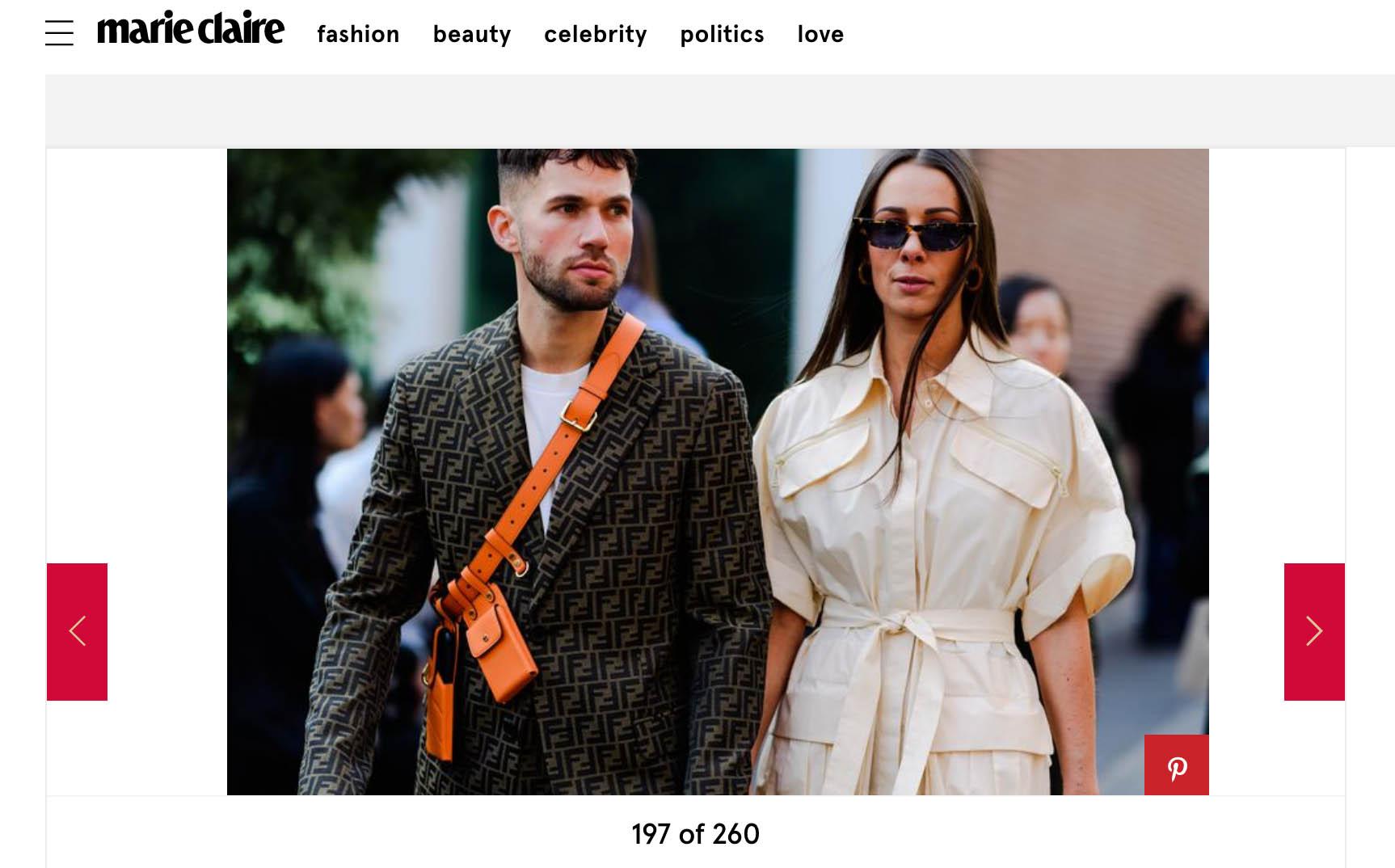 street style fashion week couple