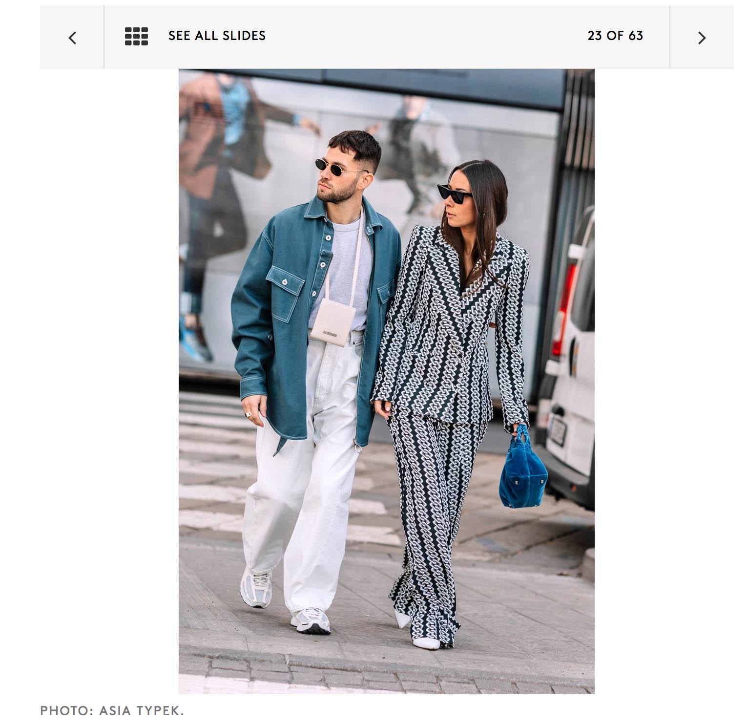 street style fashion week milano couple mode moda