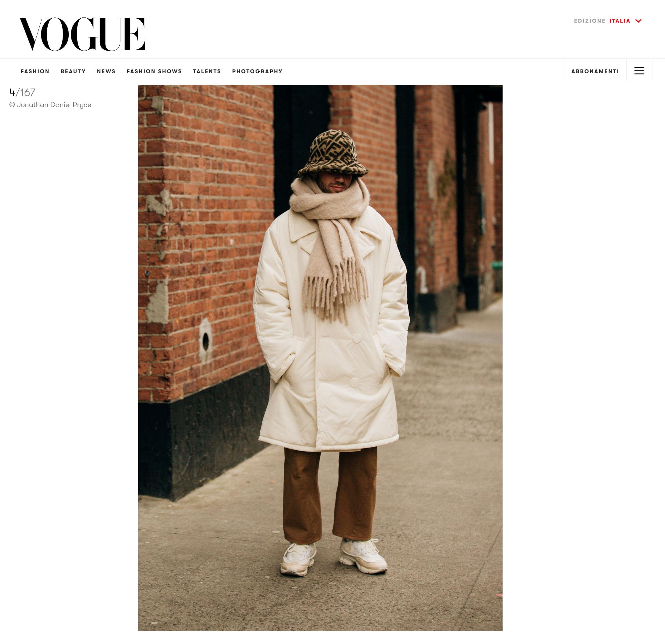 vogue italia street style nyfw fashion week