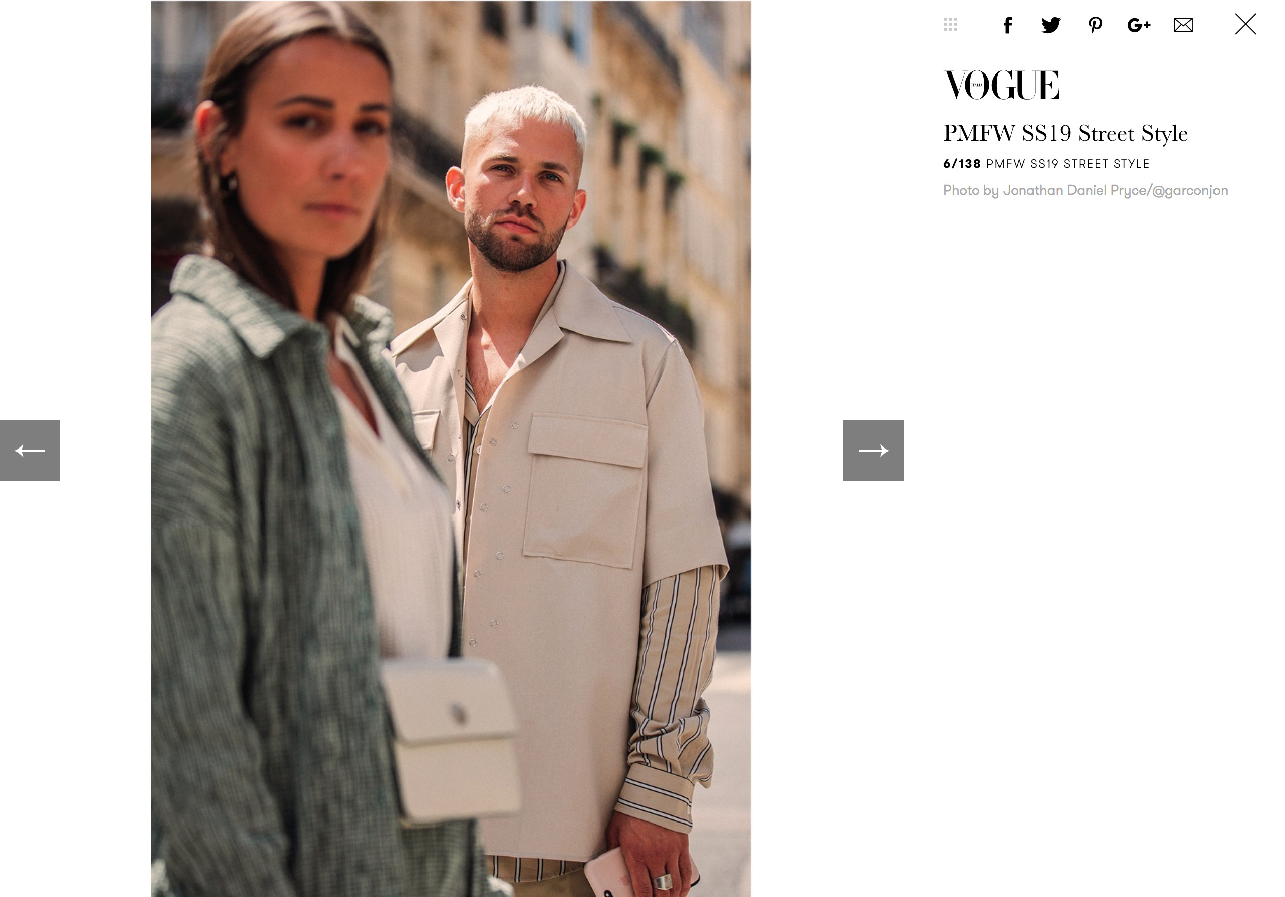 vogue italy stree style garconjon