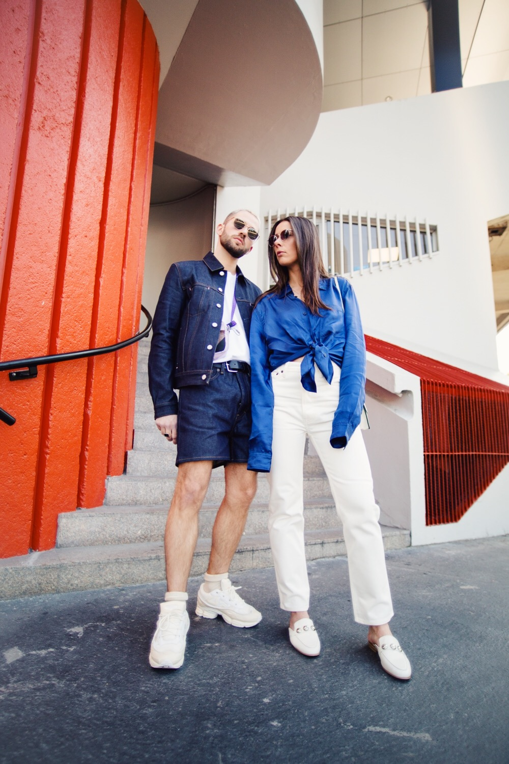 fashion couple from paris