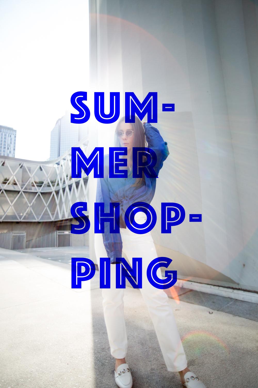 Summer shopping wishlist