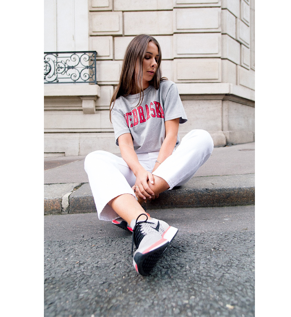 Nebraska tshirt off white