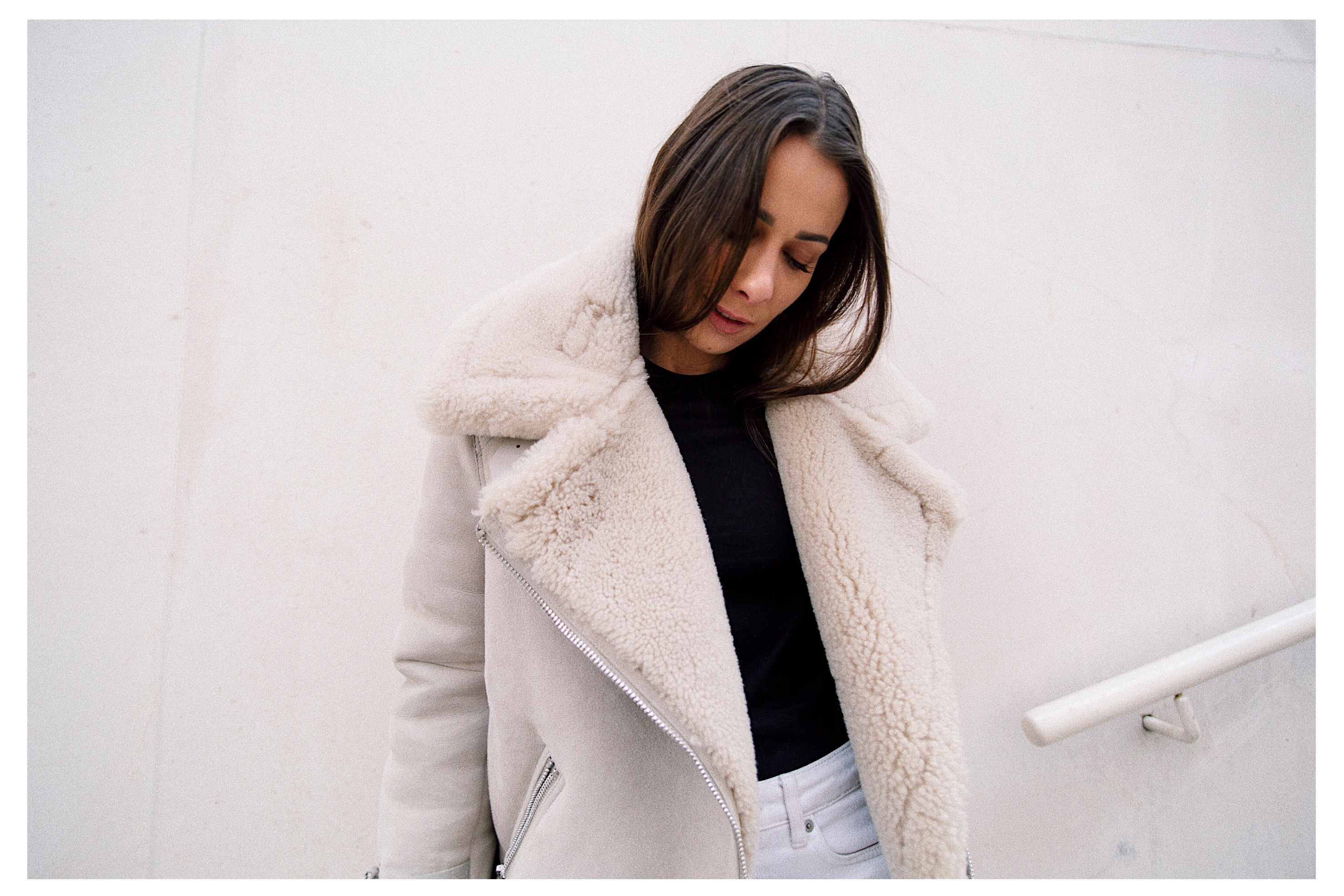 alice manteau peau de mouton shearling coat velocite