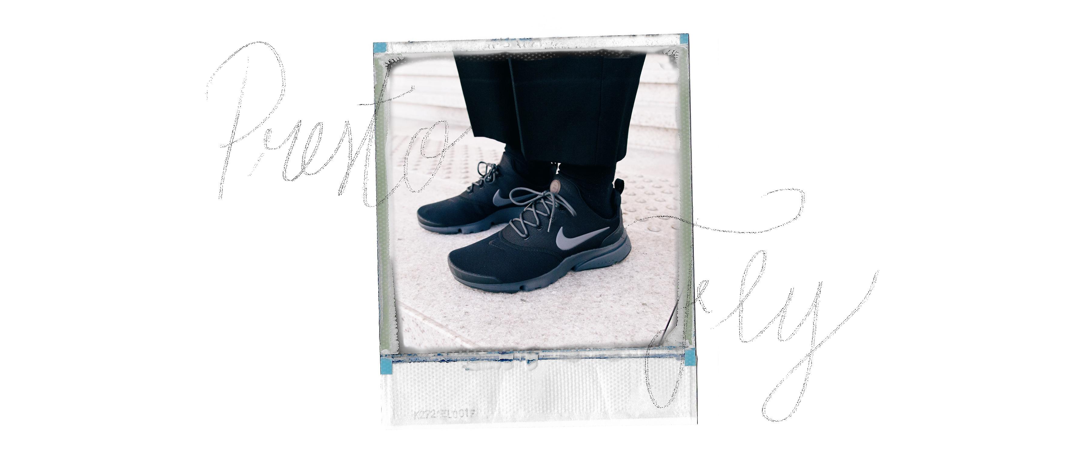 presto fly black nike sneakers
